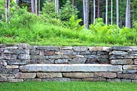 how much is a retaining wall stone retaining wall cost natural stone retaining wall picture of