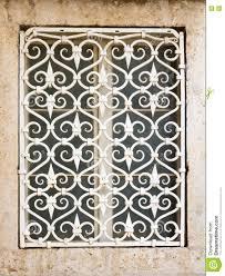 Decorative Metal Grates Decorative Metal Window Grill Stock Photo Image 77579554