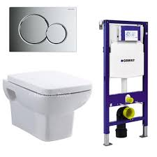 geberit duofix wall frame with wall