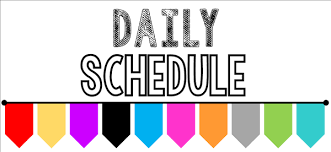 Andersons, Gabrielle / Daily Class Schedule