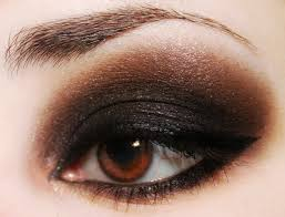 cute smokey eye makeup