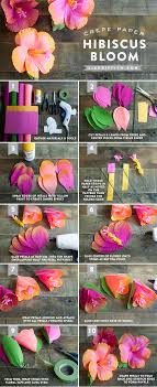 Tissue Paper Flower Pinterest Diy Crepe Hibiscus Paper Flowers Pictures Photos And Images For