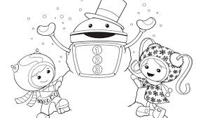 Small Picture Team Umizoomi Group Christmas Colouring Page Nick Jr UK