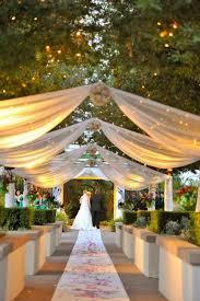how to plan the perfect garden wedding