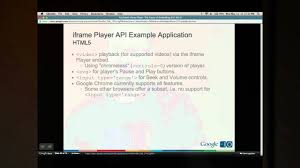 YouTube <b>Player</b> API Reference for iframe Embeds