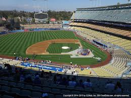 Dodger Stadium Concert Seating Chart Dodger Stadium View From Reserve Mvp 11 Vivid Seats
