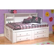 white twin storage bed. White Twin Contemporary RoomSaver Storage Bed - Laguna L