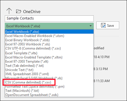 Sample Excel Files Create Or Edit Csv Files To Import Into Outlook Office