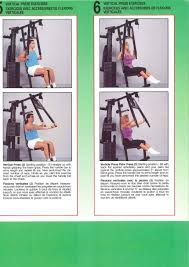 York 2600 Mega Gym And Exercise Chart Ian Cruickshank Rooferbond On Pinterest