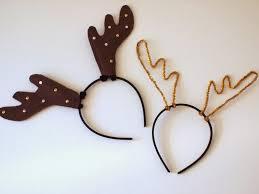 diy reindeer antler headbands