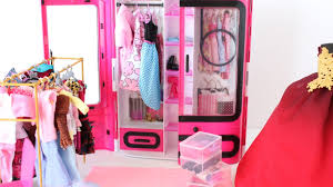 pink closet room. Beautiful Closet BARBIE PINK WARDROBE CLOSET UNBOXING SET MORE SHOES BOXES  ORGANISATION Inside Pink Closet Room H