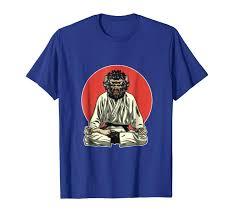 cool monkey demon brazilian jiu jitsu mma bjj gift shirt