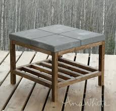 diy drum table home and furniture sophisticated concrete outdoor coffee table on rectangle concrete outdoor diy