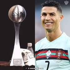 Cristiano Ronaldo named ESPY 2021 best ...