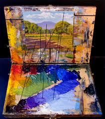 photo of colors and palette and painting by john hulsey