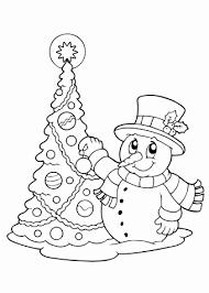 Kerstboom Tekening Uniek Sneeuwpop Kleurplaat Archidev Kleurplaatsite