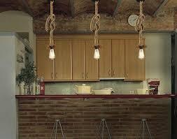 cottage pendant lighting.  Pendant Vintage Rope Pendant Lights Cottage Coastal Rustic Lighting Throughout Cottage