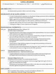 Resume Objective Example Custom Resume Objective Examples For Student College Students 60 Example