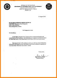 Resume Letter Tagalog Resignation Letter Tagalog 6 Jobsxs Com
