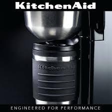 kitchenaid personal coffee maker personal coffee maker almond cream kitchenaid kcm0402er 4 cup personal coffee maker