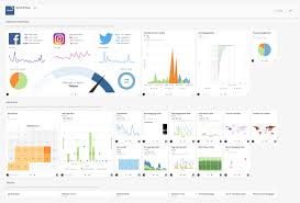 social media dashboard app of the week social rollup domo