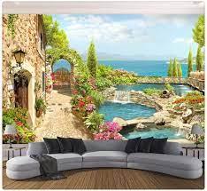 3D Photo Wallpaper for Bedroom Walls 3D ...