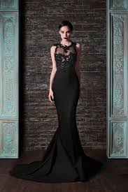 25 refined black wedding dresses to stand out weddingomania