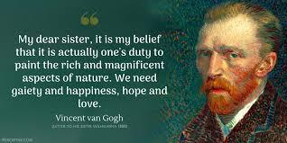Vincent Van Gogh Quotes Best Vincent Van Gogh Quotes IPerceptive