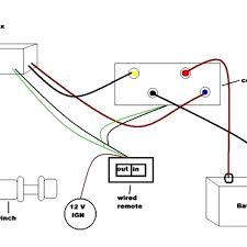 wiring diagram winch remote wiring diagram var