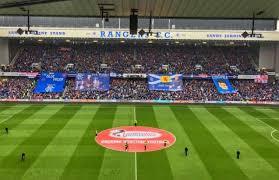 Ibrox Stadium Section Club Deck Home Of Rangers Fc