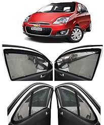 The best way to achieve that is to have the right car accessories on hand to do all the heavy lifting for you. Autofact Car Accessories Zipper Magnetic Sunshades For Chevrolet Spark Amazon In Car Motorbike