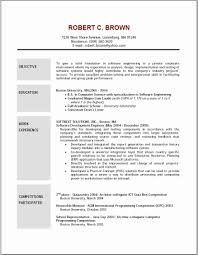 Resume Examples With Objectives Example Of Objective In Resume Luxury Resume Examples Objectives 1