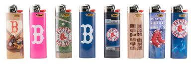 Bic Lighter Designs Buy Boston Red Sox Bic Lighters 8pk 8 Different Designs In
