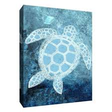 about this item on sea turtle canvas wall art with turtle under the sea decorative canvas wall art 11 x14 ptm images