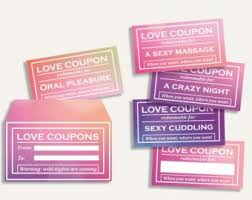 Instant Download Printable Naughty Love Coupons Book Blank Etsy