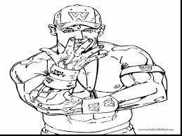 John Cena Coloring Page At Pages - snapsite.me