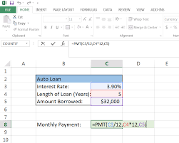 What Is Additional Principal Payment On Car Loan How To Calculate A Monthly Loan Payment In Excel Mortgage Car Loan