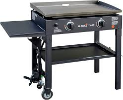 Amazon Com Blackstone 28 Inch Outdoor Flat Top Gas Grill Griddle Station 2 Burner Propane Fueled Restaurant Grade Professional Quality Outdoor Cooking Products Garden Outdoor