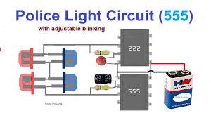 12v Strobe Light Circuit Police Light Circuit 12v Police Light Circuit Led Chaser