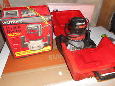 skil plunge router. craftsman 1 1/2 hp router with built in work light case skil plunge