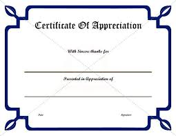 free templates for certificates of appreciation certificate of appreciation template free certificate of