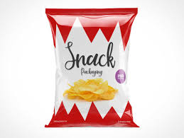 Design Your Own Potato Chip Bag Chips Psd Mockups
