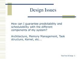 Os Design Issues Ppt Real Time Operating System Design Powerpoint
