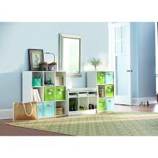 Storage Benches For Living Room Martha Stewart Living White 3 Cubby Storage Bench 0647100410 The