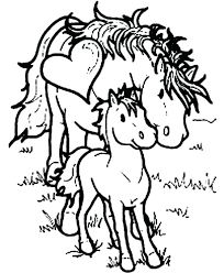 Printable Coloring Pages horse coloring pages to print for free : Horses Coloring Pages Free Spirit Horse Printable Realistic For ...