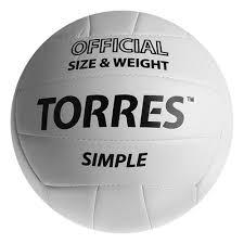 <b>Мяч волейбольный Torres</b> Simple, V30105, размер 5 арт.569181 ...