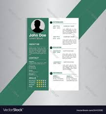 Modern Creative Resume Template Template Creative Resume Templates Free Download Pdf Print