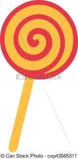 lollipop swirl clip art. Interesting Art Lollipop Candy With Swirl  Csp43585311 Inside Swirl Clip Art R
