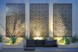 modern garden wall art uk