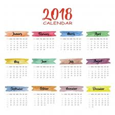 2018 Calendar Vectors, Photos And Psd Files | Free Download